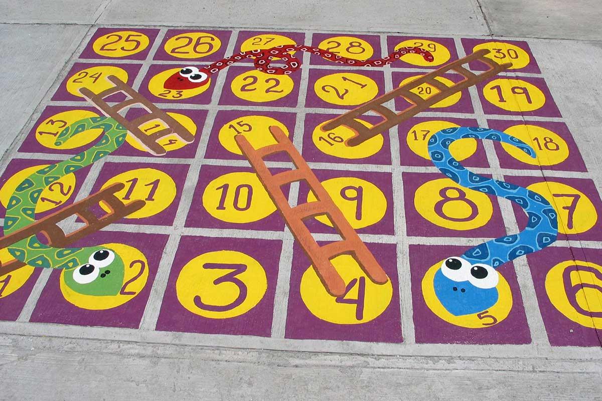 9 Juegos Que Puedes Pintar En El Patio Escolar Para Fomentar El
