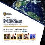 """""""El futuro de la internacionalización de las Universidades"""". Webinar UdeC"""