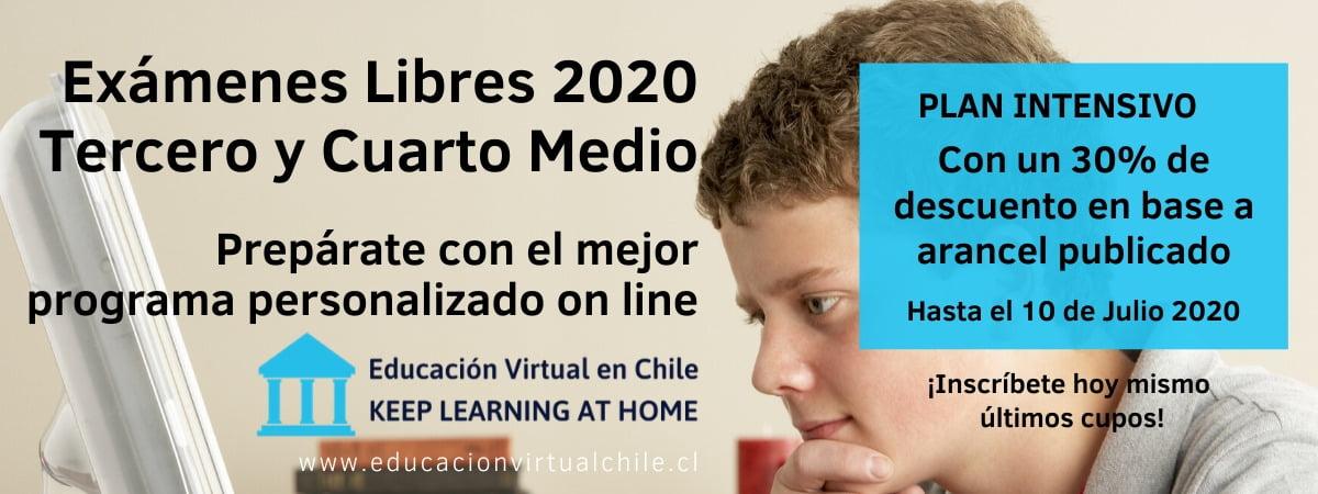 Exámenes libres 2020 preparación intensiva