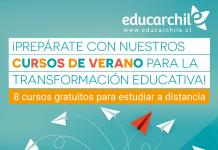Educarchile abre inscripciones a 8 cursos gratuitos de verano dirigidos a comunidades educativas