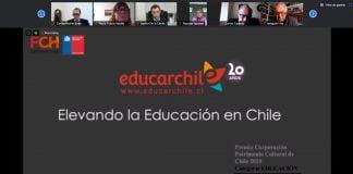 Educarchile es distinguido por su contribución al mejoramiento de la calidad de la educación y la promoción de la profesión docente