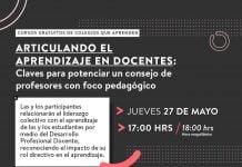Consejo de profesores con foco pedagógico, el nuevo curso gratuito de Colegios que Aprenden