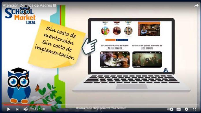SCHOOL MARKET: LANZAN EN CHILE, SCHOOL MARKET LOCAL, LA PRIMERA PLATAFORMA QUE PERMITE QUE CADA COLEGIO TENGA SU PROPIA COMUNIDAD COMERCIAL Y VITRINA DE EMPRENDIMIENTOS