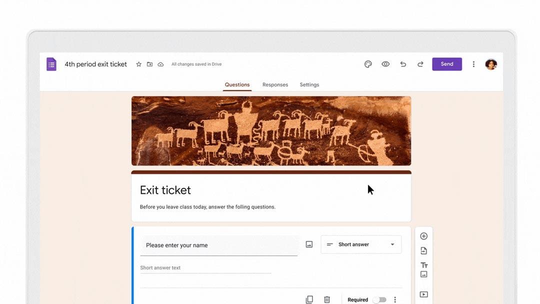 Forms de Google for Education - Forms de Google for Education - Herramientas digitales más usadas para la evaluación de aprendizajes
