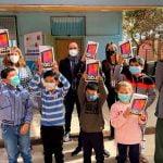 SLEP Puerto Cordillera invirtió más de $120 millones en tablets para establecimientos educacionales del territorio