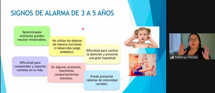 Seminario del Instituto Virginio Gómez abordó condición del Espectro Autista para educadores