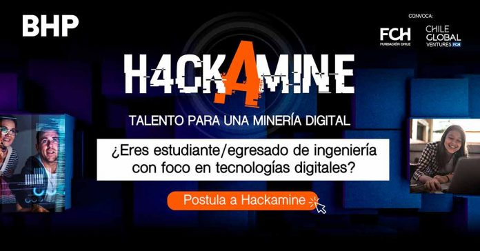 Tercera versión de Hackamine busca los mejores talentos para potenciar el área tecnológica de BHP