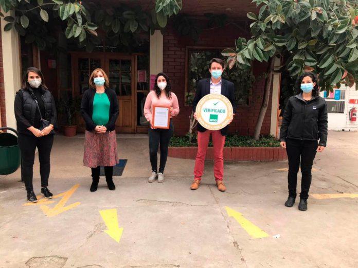 La ACHS entrega SELLO COVID a la Corporación Educacional Tecnológica de Chile